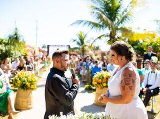 O casamento de Juliana e Dhiury