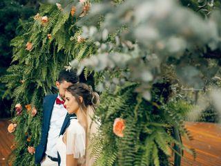 O casamento de Larissa  e Gustavo