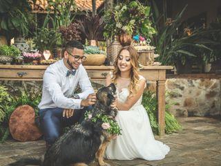 O casamento de Tafate e Wellington