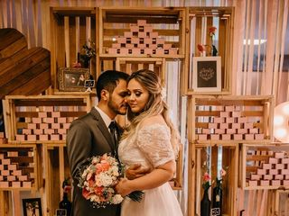 O casamento de Karol e Júnior 1
