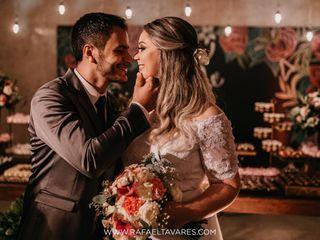 O casamento de Karol e Júnior