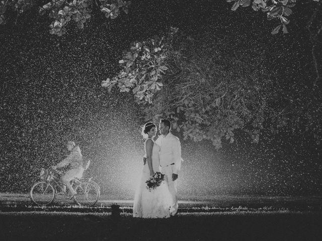 O casamento de Beatriz e Uirá