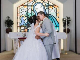 O casamento de Eduarda e Igor