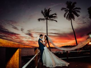 O casamento de Olívia e Alexandre