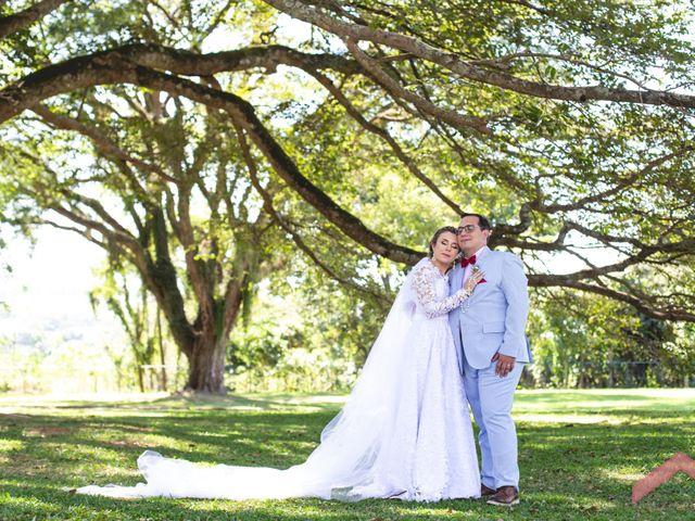 O casamento de Joana e Nilson