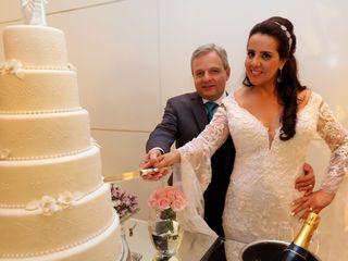 O casamento de Alessandra e Rogério