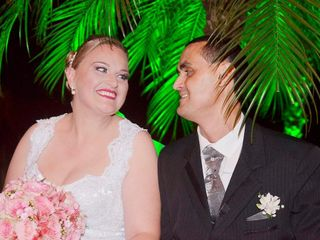 O casamento de Angélica e André