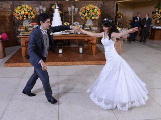 O casamento de Danusa e Caio