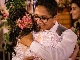 O casamento de Alyne e Tiago