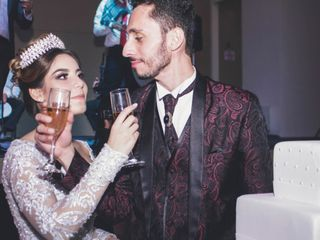 O casamento de Najla e Ahmad