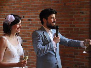 O casamento de Camila e Fabrício