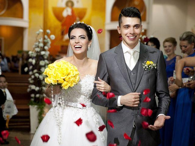 O casamento de Ariate e Carlos