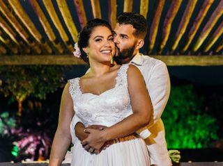 O casamento de Vivian e Iury