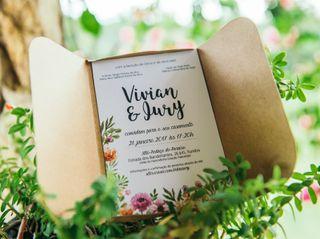 O casamento de Vivian e Iury 1