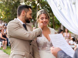 O casamento de Karol e Rodolfo