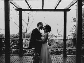 O casamento de Helena e André