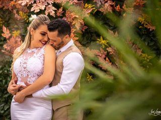 O casamento de Gilvania e Yury