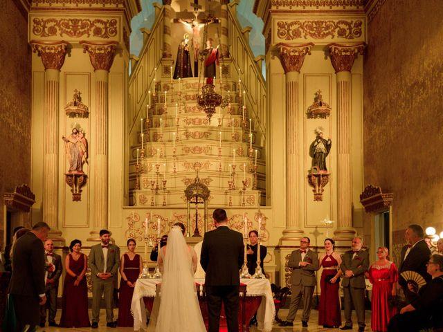 O casamento de Isabelle e Jacopo