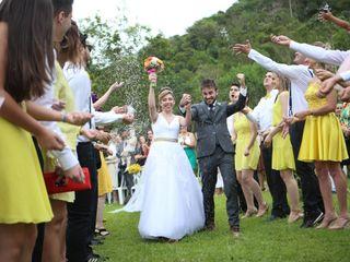 O casamento de Bia e Juka
