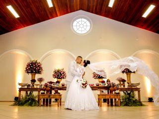 O casamento de Scarlet e Gean