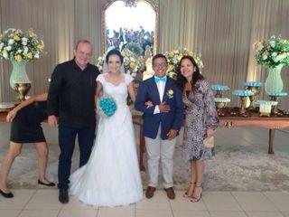 O casamento de Liege e Douglas