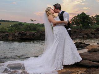 O casamento de Larissa e Cristiano
