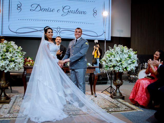 O casamento de Denise e Gustavo