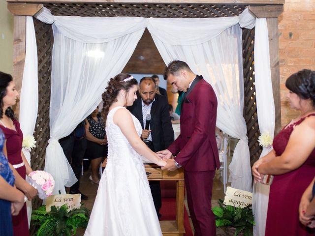 O casamento de Camila e Matheus