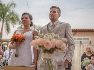O casamento de Iris e Diego