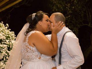O casamento de Duany e Samuel