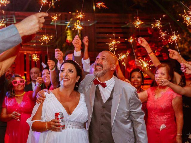 O casamento de Silvana e Marco