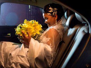 O casamento de Elaine e Adriano