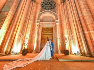 O casamento de Catarina e Vitorino