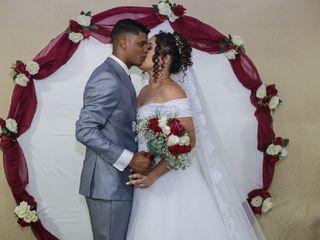 O casamento de Alana e Thiago