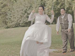 O casamento de Agda e Leandro