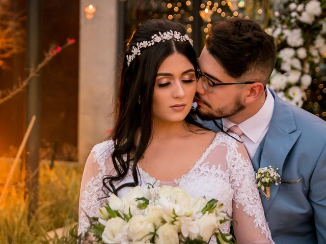 O casamento de Maria Eduarda e Abraão