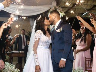 O casamento de Elaine e Ramilton