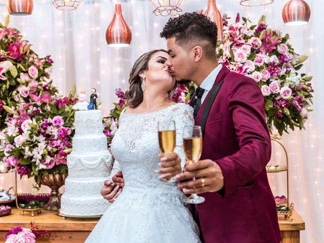 O casamento de Grace e Hebio