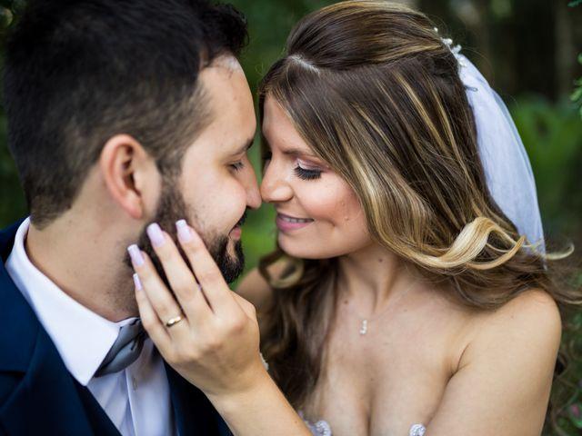 O casamento de Verônica e Márcio