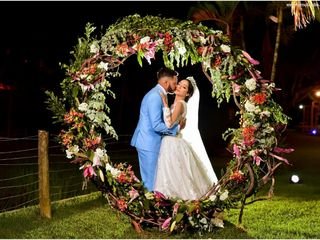 O casamento de Carol e Matheus
