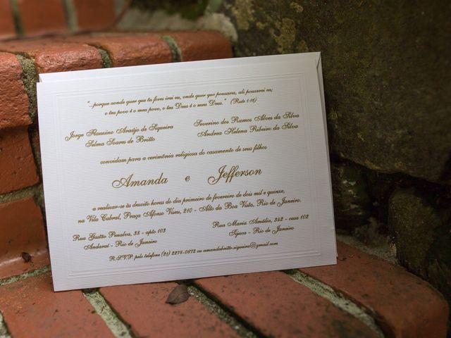 O casamento de Jefferson e Amanda em Rio de Janeiro, Rio de Janeiro 48