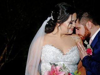 O casamento de Ariadne e Alexandre