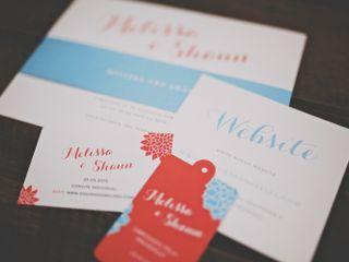 O casamento de Melissa e Shaun 1