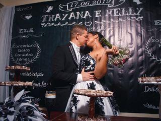 O casamento de Thayana e Helly 3