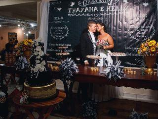 O casamento de Thayana e Helly