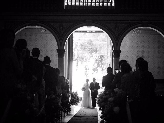 O casamento de Isabel e Fabio