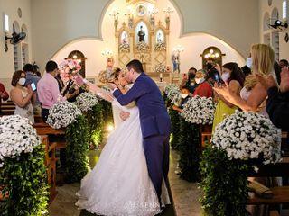 O casamento de Rose  e  Gabriel