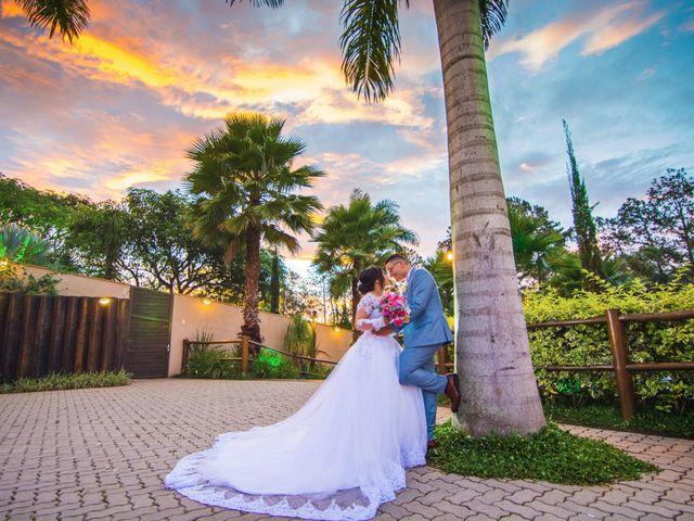 O casamento de Isac e Erika