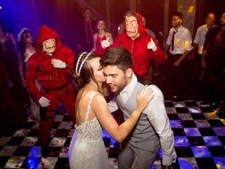 O casamento de Alessandra e Yuri