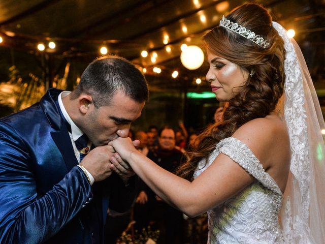 O casamento de Renata e Alcionei